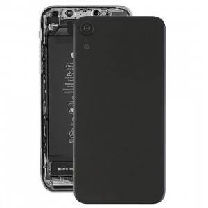 Coque arrière de batterie avec lunette arrière et objectif et adhésif pour iPhone XR (Noir) SH26BL325-20