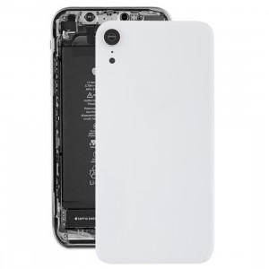 Coque arrière de batterie avec lunette arrière et objectif et adhésif pour iPhone XR (Blanc) SH26WL800-20