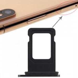 Bac à carte SIM pour iPhone XR (carte SIM simple) (noir) SH00331957-20