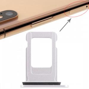 Bac à carte SIM pour iPhone XR (carte SIM simple) (Blanc) SH033W450-20
