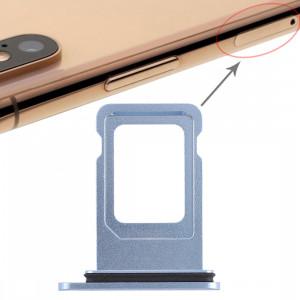 Double plateau de carte SIM pour iPhone XR (double carte SIM) (bleu) SH036L575-20
