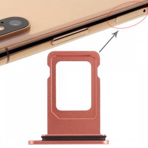 Double plateau de carte SIM pour iPhone XR (double carte SIM) (or rose) SH36RG1131-20