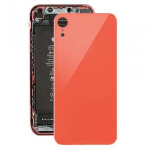 Coque arrière avec adhésif pour iPhone XR (rose) SH035F1943-20