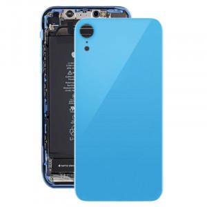 Coque arrière avec adhésif pour iPhone XR (bleu) SH035L1587-20
