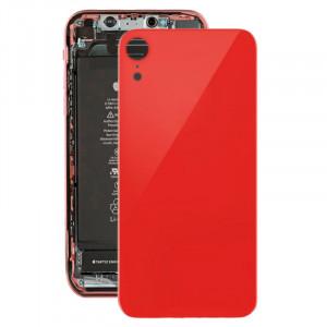 Coque arrière avec adhésif pour iPhone XR (rouge) SH035R1303-20