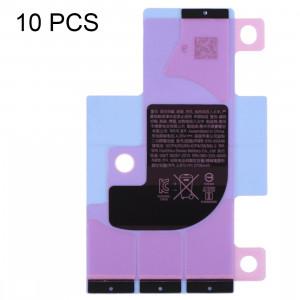 10 autocollants adhésifs de batterie de batterie de PCS pour l'iPhone XR SH57411472-20