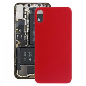 Coque Arrière Batterie avec Adhésif pour iPhone X / XS (Rouge) SH52RL1267-20