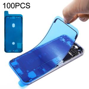 100 PCS LCD Frame Bezel Stickers adhésifs imperméables pour iPhone XS SH0329914-20