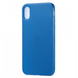 Etui TPU Candy Color pour iPhone XR (Bleu Foncé) SH615D1233-20
