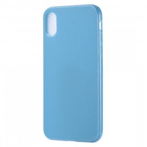 Etui TPU Candy Color pour iPhone XR (Bleu) SH615L319-20
