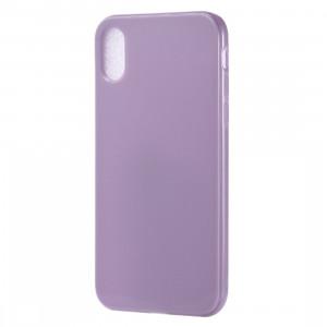 Etui TPU Candy Color pour iPhone XR (Violet Clair) SH15LP1335-20