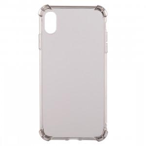 Coque en TPU transparente anti-chute de 0,75 mm pour iPhone XR 6,1 pouces (marron) SH941Z696-20