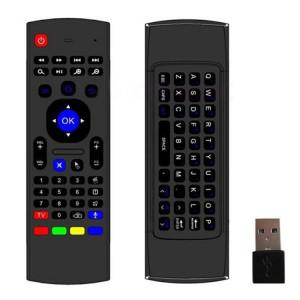 MX3-M Air Mouse Sans Fil 2.4G Télécommande Clavier avec Microphone pour Android TV Box / Mini PC SM0068656-20