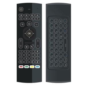 mx3 2 en 1 6-axe Air Mouse 2.4G Clavier rétroéclairage sans fil + Somatosensory télécommande pour Android TV Box Player et PC et tablette SM05891120-20