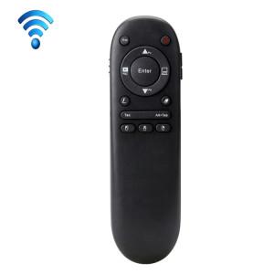 VIBOTON 504F 2.4 GHz Air Souris Sans Fil RF Télécommande Laser Présentateur Pointeur Pointeur Laser Multi-fonctionnelle pour Multimédia (Noir) SV2092557-20