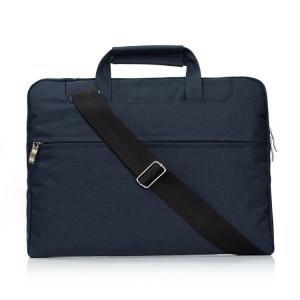 Portable un sac à bandoulière portable à glissière épaule, pour 11,6 pouces et ci-dessous Macbook, Samsung, Lenovo, Sony, DELL Alienware, CHUWI, ASUS, HP (bleu foncé) SP401D1995-20