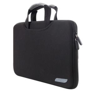 15.6 pouces sac à main portable perméable à l'air portable pour ordinateurs portables, taille: 41.5x30.0x3.5cm (noir) S1580B1750-20