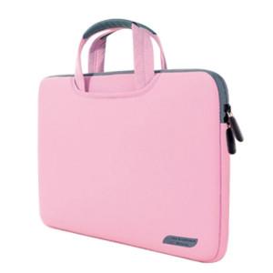 15.6 pouces sac à main portable perméable à l'air portable pour ordinateurs portables, taille: 41.5x30.0x3.5cm (rose) S1580F66-20