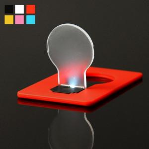 Lampe de poche à LED créative Lampe de carte ultra-fine, livraison couleur aléatoire SL00300-20