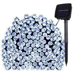 17m 100 LEDs IP44 Panneau solaire étanche Fée lampe vacances décorative lumière (lumière blanche) S109WL838-20