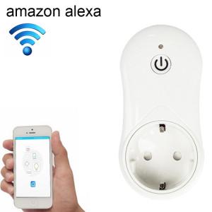 16A 2,4 GHz Alexa WiFi Contrôle Smart Timer Home Prise de courant avec Echo et Google Home, AC 100-240 V, UE Plug S1507A985-20