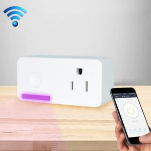 16A WiFi 2.4GHz APP Télécommande Timing Smart Socket Fonctionne avec Alexa et Google Home, AC 110-250 V, US Plug S135101298-20