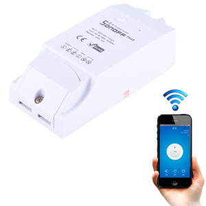 Sonoff TH10 DIY 10A Température et Humidité Module Télécommande WiFi Smart Switch pour Smart Home, Soutien iOS et Android SS35181936-20