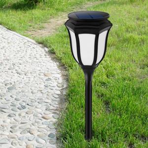 Lumière de torche de forme d'hexagone d'énergie solaire de YY-9605-6, 96 LED SMD 2835 2800K Lampe de lumière d'environnement favorable de LED avec le panneau solaire de 5.5V / 1W SH355560-20