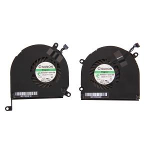 1 Paire iPartsAcheter pour Macbook Pro 15,4 pouces (2009 2011) A1286 / MB985 / MC721 / MC371 Ventilateurs de Refroidissement (Gauche + Droite) S105181820-20