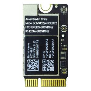 iPartsBuy pour Macbook Air 13,3 pouces A1369 (2010-2011) et 11,6 pouces A1370 (2010-2011) et A1465 (2012) Module réseau WiFi et Bluetooth SI1517713-20