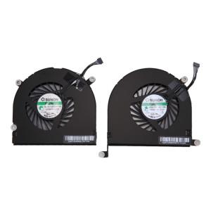 1 Paire iPartsAcheter pour Macbook Pro 17 pouces A1297 (2009 2011) Ventilateurs de Refroidissement (Gauche + Droite) S1213819-20