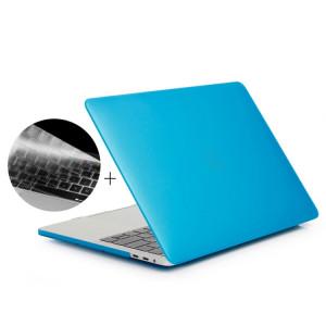 ENKAY Hat-Prince 2 en 1 Coque de protection en plastique dur givré + Version Europe Ultra-mince TPU Couverture de clavier protecteur pour 2016 MacBook Pro 13,3 pouces avec barre tactile (A1706) (Bleu bébé) SE01TT539-20