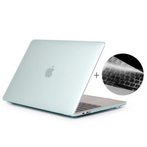 ENKAY Chapeau-Prince 2 en 1 cristal dur coque en plastique de protection + Europe Version Ultra-mince TPU clavier couvercle de protection pour 2016 MacBook Pro 15,4 pouces avec barre tactile (A1707) (vert) SE606G1676-20
