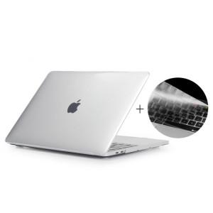 ENKAY Chapeau-Prince 2 en 1 cristal dur coque en plastique de protection + Europe Version Ultra-mince TPU couvercle de clavier de protection pour 2016 MacBook Pro 15,4 pouces avec barre tactile (A1707) (Transparent) SE606T1285-20