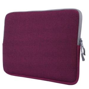 Pour Macbook Pro 13,3 pouces avec Touch Bar Sacoche pour ordinateur portable Soft Portable Package Pouch (Violet) SH104P277-20