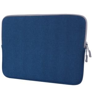 Pour Macbook Pro 13.3 pouces sacoche portable poche souple (bleu) SH105L34-20