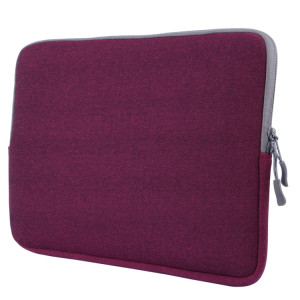 Pour Macbook Pro 15,4 pouces sacoche portable poche souple (violet) SH106P1579-20