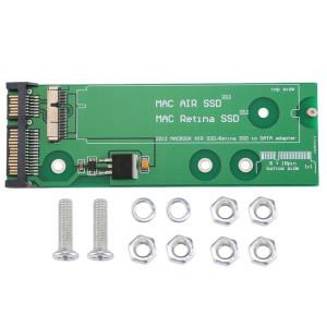 iPartsAcheter pour MacBook Air 11.6 pouces A1465 (2012) et 13.3 pouces A1462 (2012) SSD vers SATA SI5723653-20