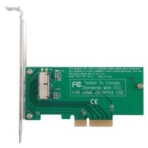 iPartsAcheter pour MacBook Pro A1398 et A1502 (2013) / Air A1465 et A1466 (2013) Adaptateur SSD vers PCI-E X4 SI57241408-20