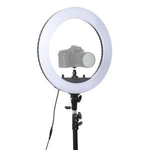 Lampe de poche à retardateur à DEL avec anneau de retardateur pour photographie, prise d'ancrage 18 pouces, sans support SH0056207-20