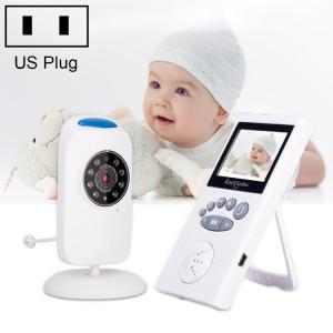 WLSES GB101 Moniteur pour bébé avec caméra de surveillance sans fil 2,4 pouces, prise américaine SH601A655-20