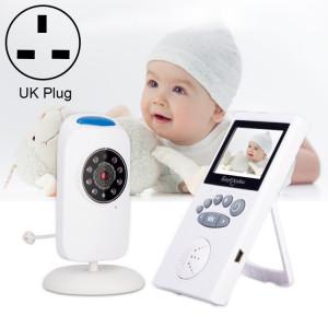 WLSES GB101 Moniteur pour bébé avec caméra de surveillance sans fil 2,4 pouces, prise britannique SH601D1131-20