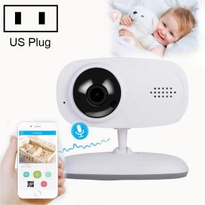 Moniteur de bébé de caméra de surveillance sans fil WLSES GC60 720P, prise américaine SH602A1891-20
