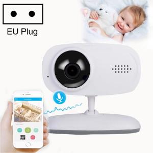 Moniteur de bébé de caméra de surveillance sans fil WLSES GC60 720P, prise UE SH602B1951-20