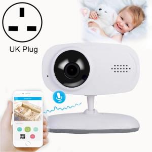 Moniteur de bébé de caméra de surveillance sans fil WLSES GC60 720P, prise britannique SH602C1827-20