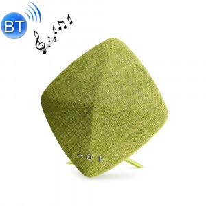 JOYROOM JR-M03 Enceinte stéréo Bluetooth à conception de tissu portable, avec MIC intégré, carte de support TF & AUX IN & USB, Bluetooth Distance: 10m (vert) SJ671G1700-20