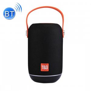 T & G TG107 Haut-parleur stéréo sans fil Bluetooth V4.2 portable avec poignée, MIC intégré, prise en charge des appels mains libres et carte TF & AUX IN & FM, Bluetooth Distance: 10 m SH201B943-20