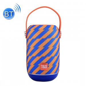 T & G TG107 Haut-parleur stéréo sans fil Bluetooth V4.2 portable avec poignée, MIC intégré, prise en charge des appels mains libres et carte TF & AUX IN & FM, Bluetooth Distance: 10 m SH01EL692-20