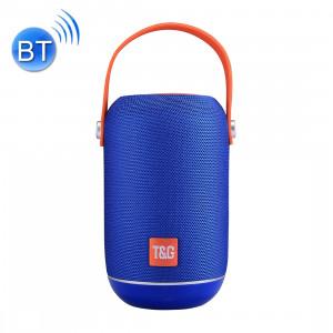 T & G TG107 Haut-parleur stéréo sans fil Bluetooth V4.2 portable avec poignée, MIC intégré, prise en charge des appels mains libres et carte TF & AUX IN & FM, Bluetooth Distance: 10 m SH201L1890-20