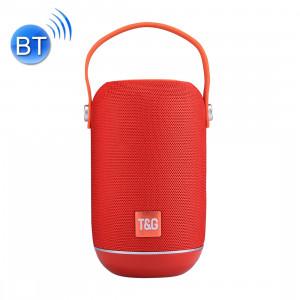 T & G TG107 Haut-parleur stéréo sans fil Bluetooth V4.2 portable avec poignée, MIC intégré, prise en charge des appels mains libres et carte TF & AUX IN & FM, Bluetooth Distance: 10 m SH201R1281-20